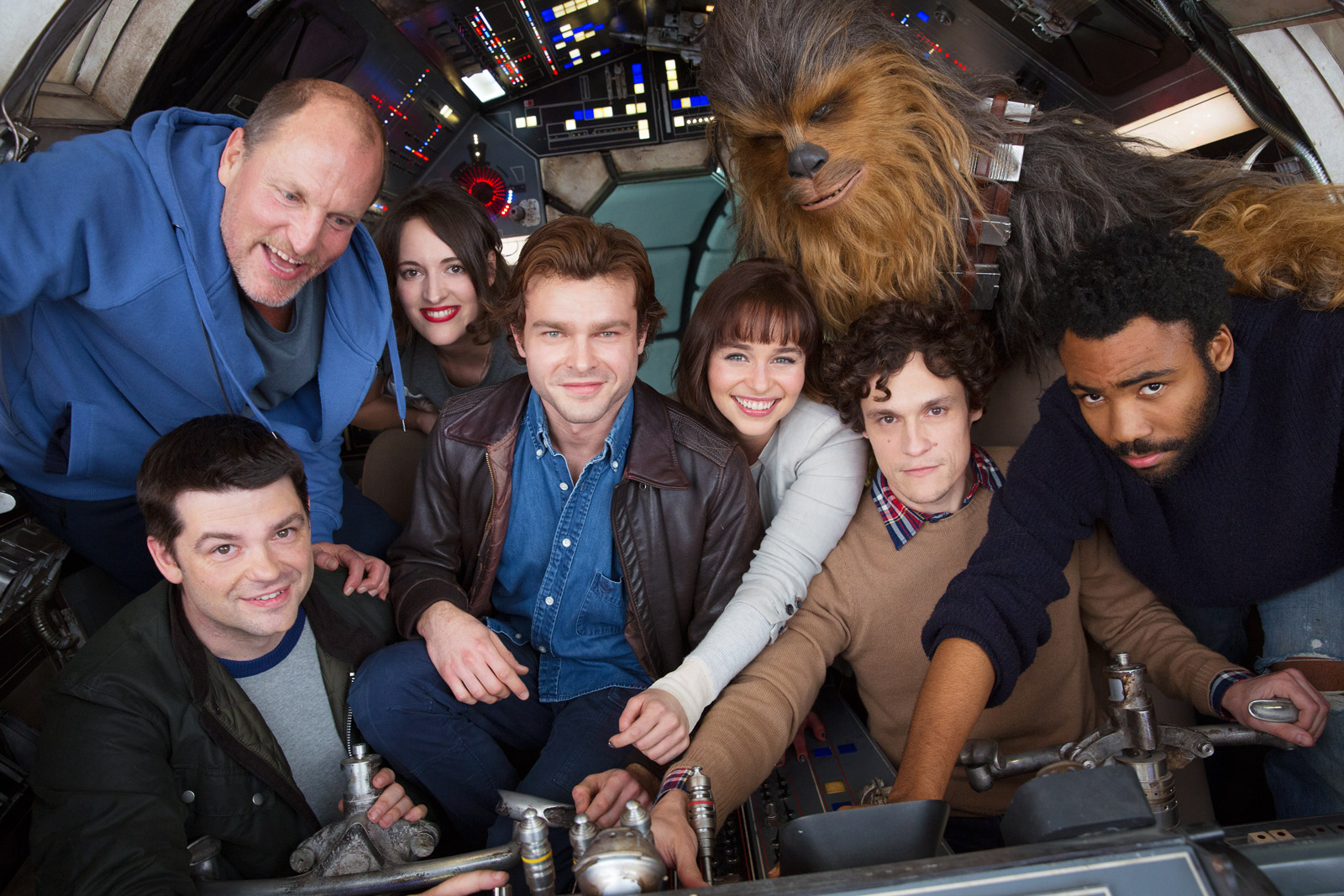 Han Solo Star Wars Movie Starts Filming