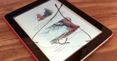 iPad with e-Book