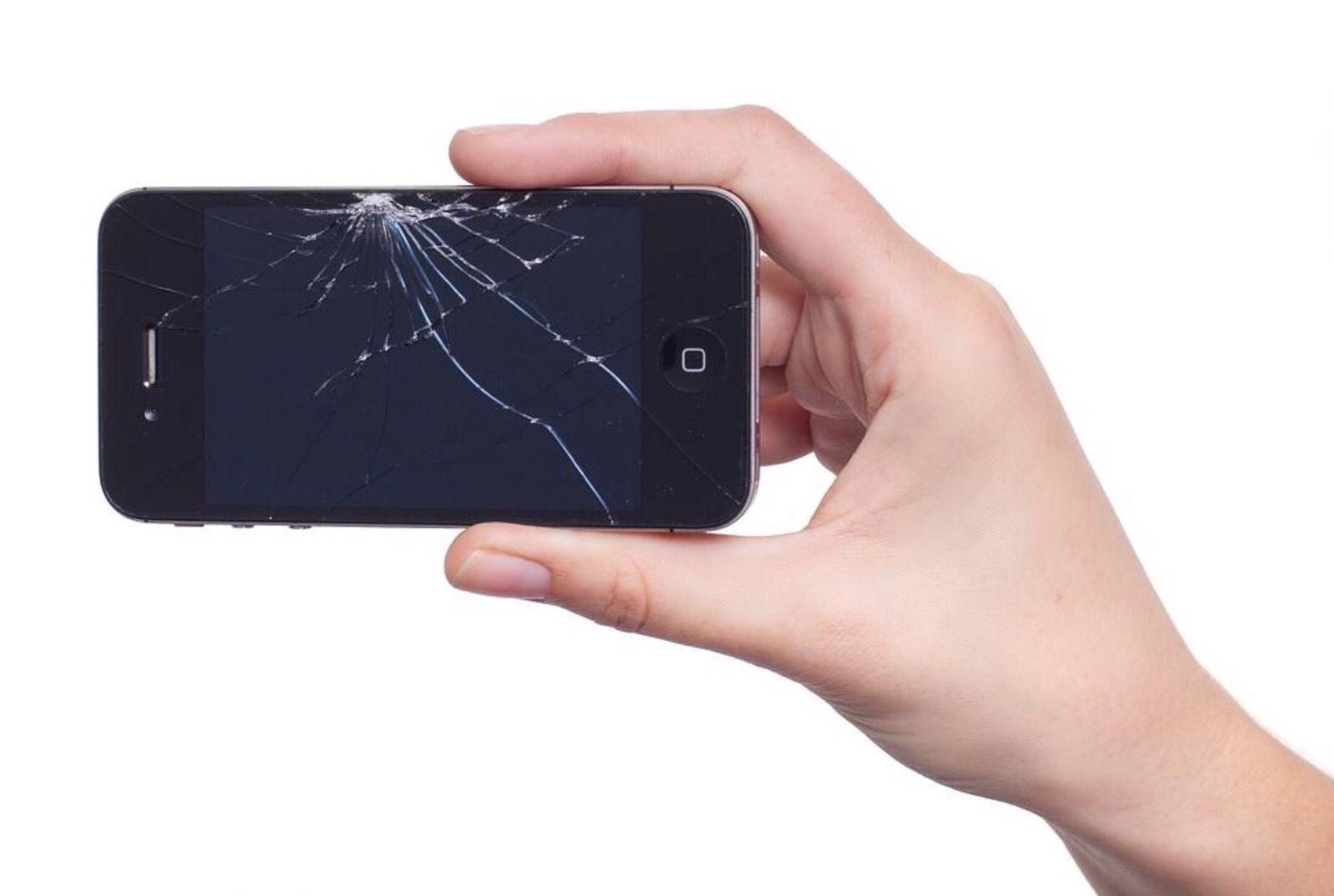 iPhone screen repair cracked screen