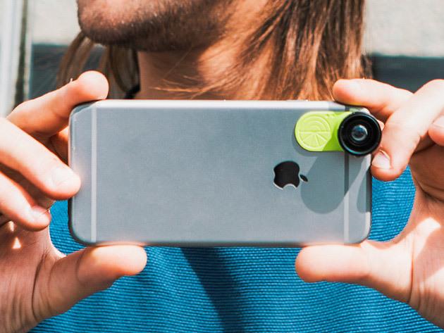 LimeLens Universal Smartphone Camera Lens Set: $39.99