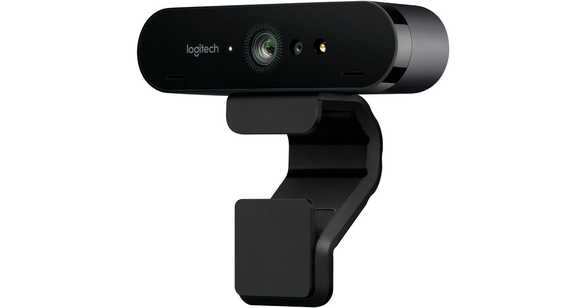Logitech BRIO, a 4K Webcam for Mac and Windows