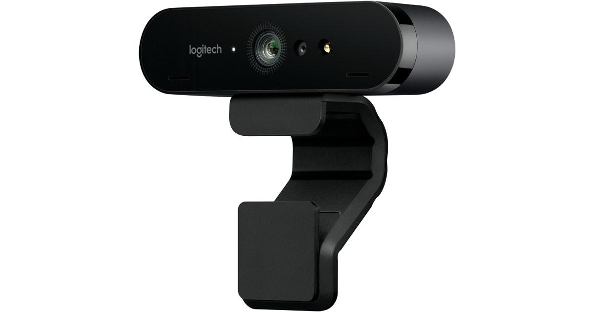 Logitech BRIO, a 4K Webcam for Mac and Windows