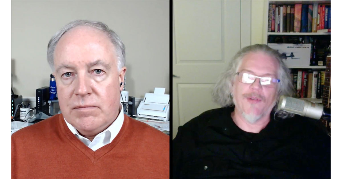 Chuck Joiner and Bryan Chaffin on MacVoices