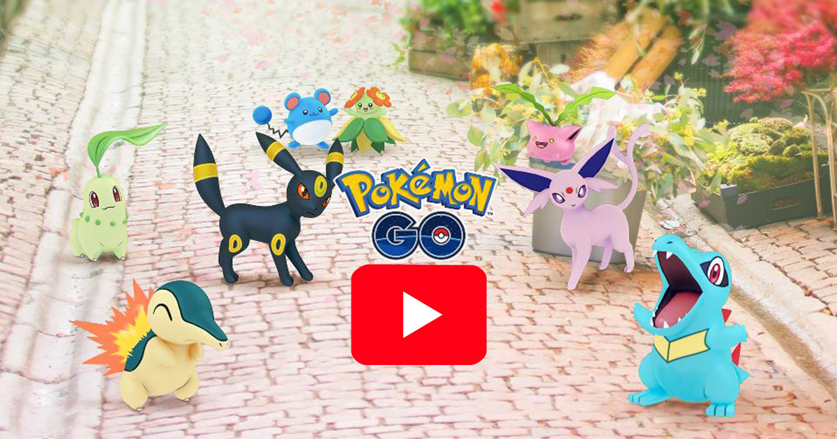 Niantic's Pokémon GO adds 80 new characters to catch with Gen 2 update