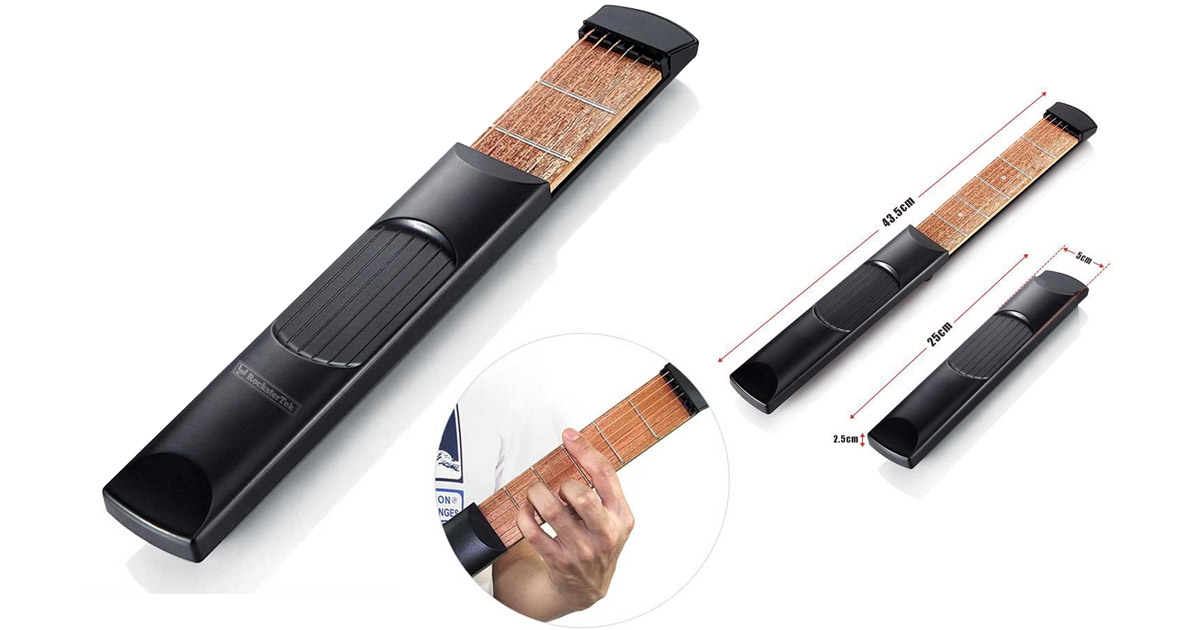 RocksterTek Porta-Guitar Is a Portable Guitar Neck for Practice