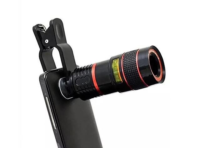 Smartphone Telephoto PRO Camera Lens: $17.99