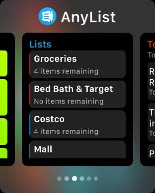 watchOS 3 App Dock