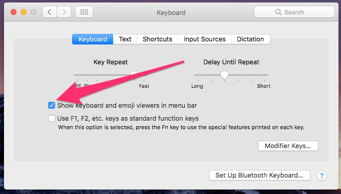 Enabling the Keyboard Viewer in Keyboard Preferences, to allow typing accented letters