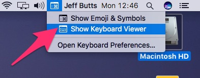 Type your accented letters from the Keyboard Viewer now available in your menu bar