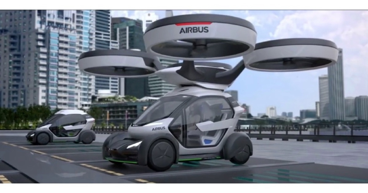 An Ingenious Flying Car Concept From Airbus