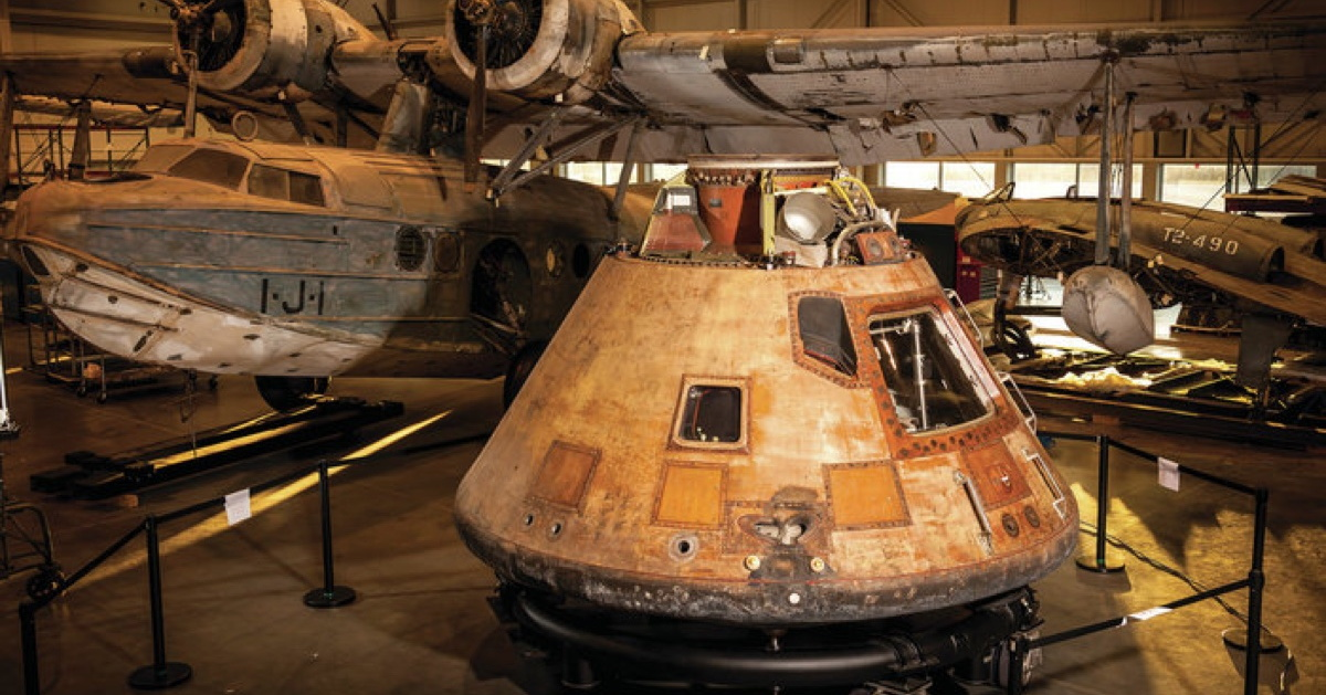Apollo 11 Space Capsule Goes on a New Mission
