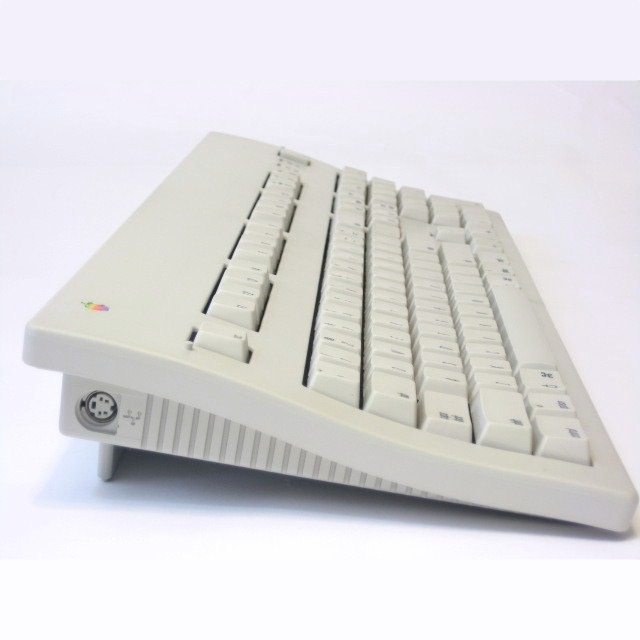 The aircraft carrier-like Apple Extended Keyboard II (long discontinued) is a classic remembered fondly by many.