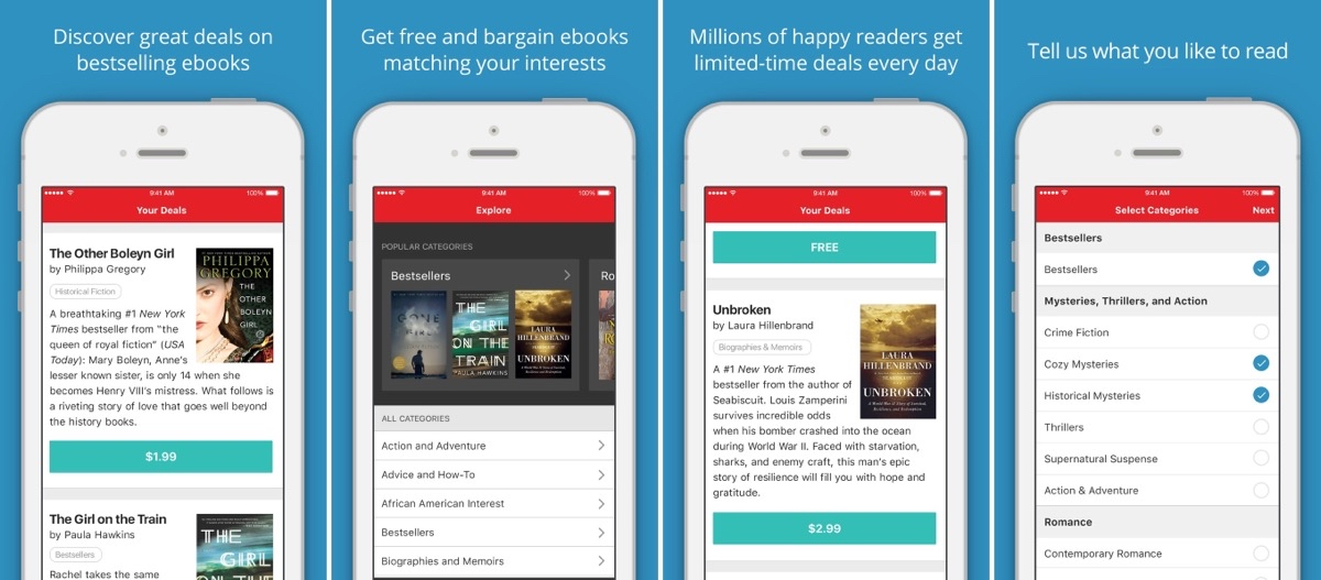 BookBub Gives You Deals and Recommendations on eBooks