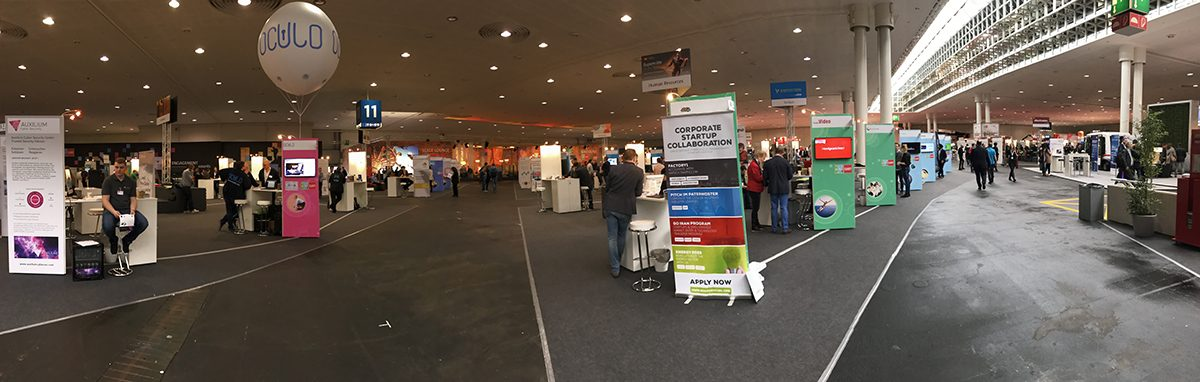 Some things never change—CeBIT is clearly a trade show...