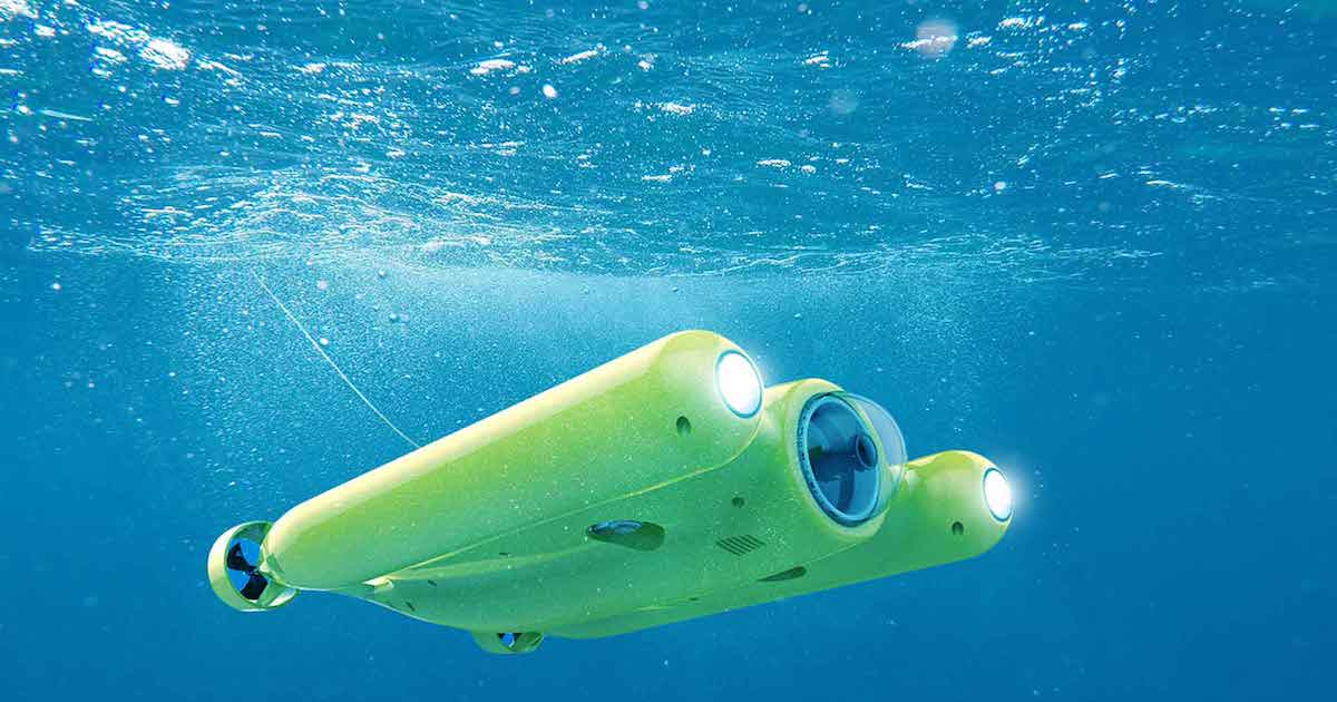 This Drone's Underwater Camera Can Shoot 4K Video