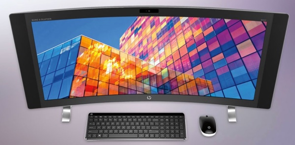 The HP ENVY Curved All-in-One Desktop 34-a010