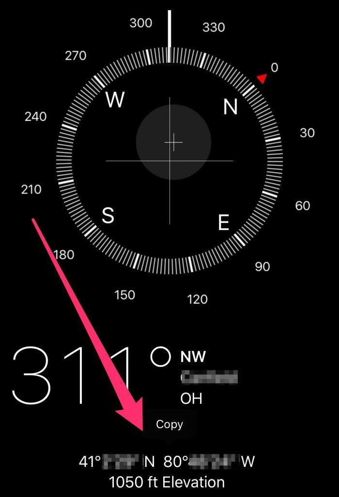 Share My Location Compass