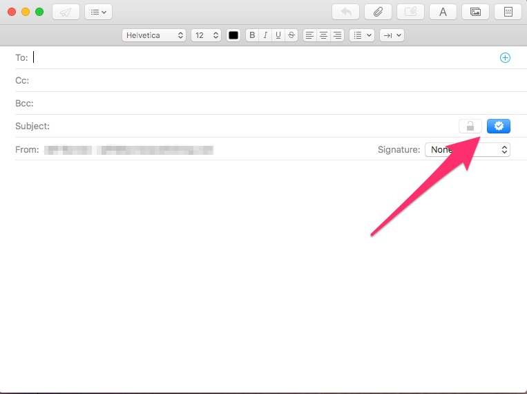 Apple Mail email encryption
