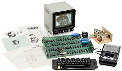 Apple I computer up for auction