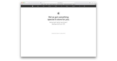 Apple Store offline ahead of (PRODUCT)RED iPhone 7 and new iPad launch