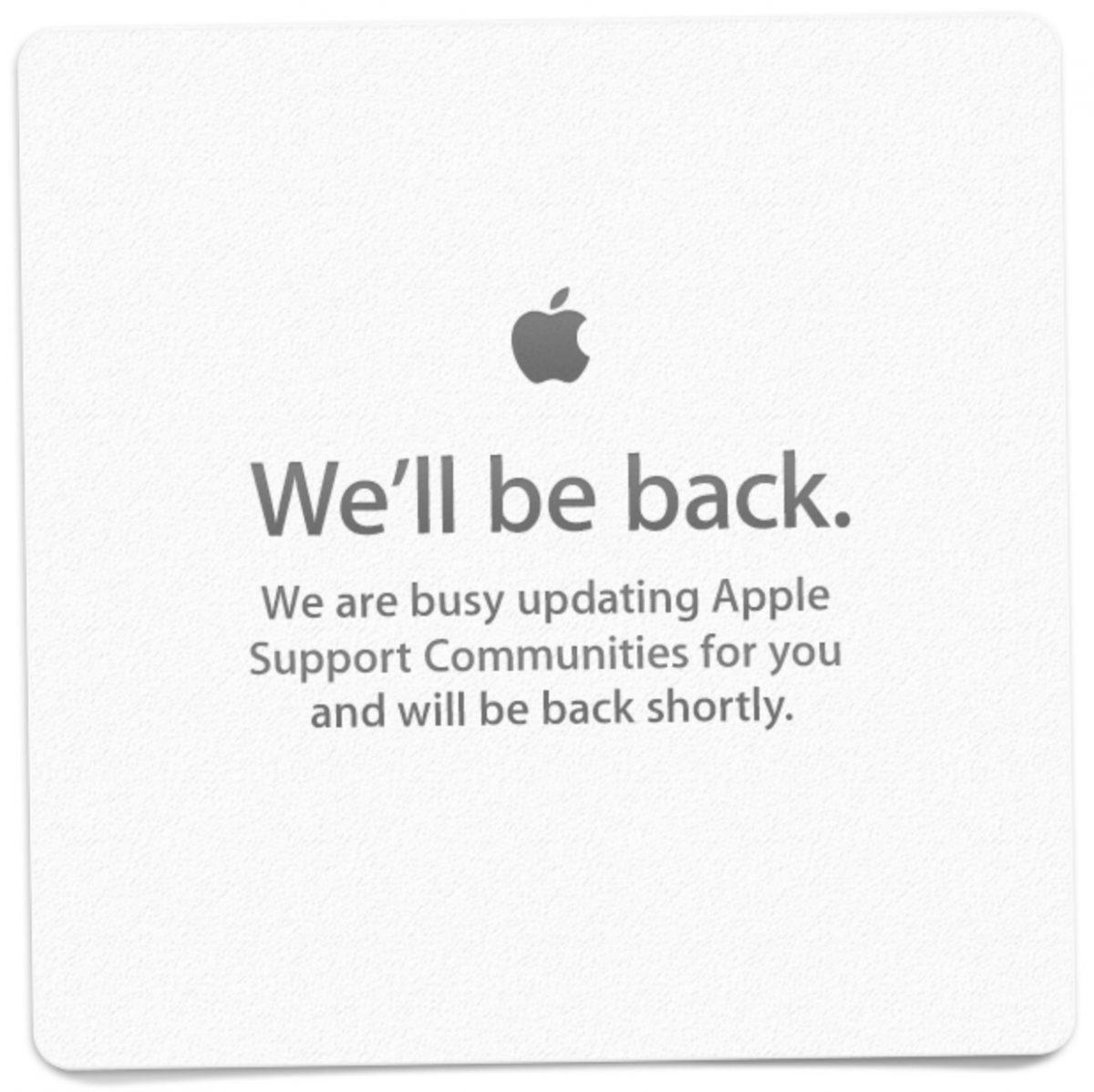 We'll be back.