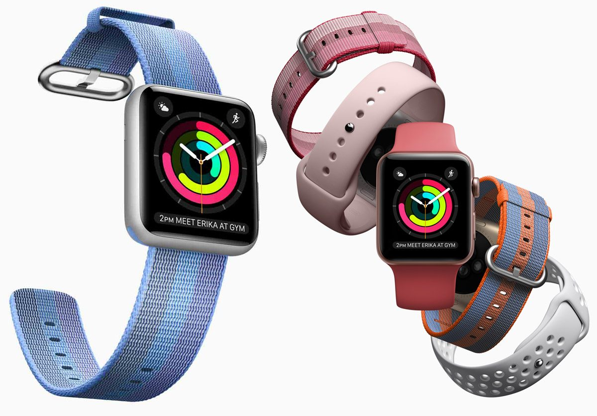 New Apple Watch Striped Woven Nylon and Sport Bands