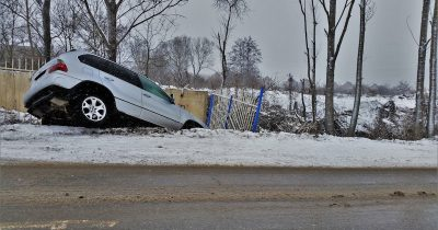 A car crash - hope the driver had auto insurance