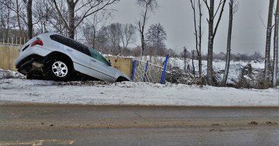 A car crash - hope the driver had auto insurance