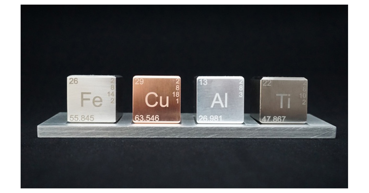 Element Blocks The Coolest Periodic Table For Your Desk The Mac