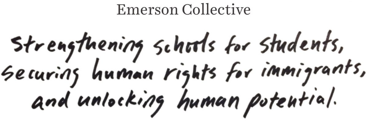 Emerson Collective Tagline