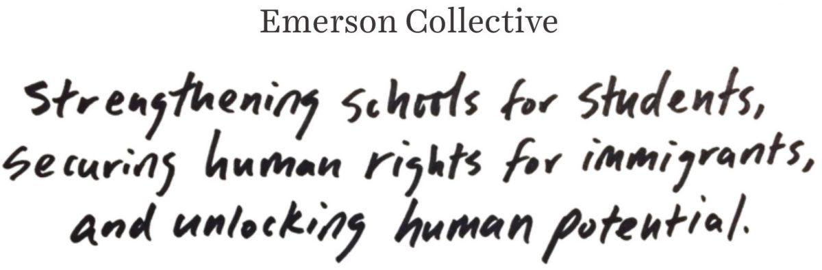 Emerson Collective Tagline