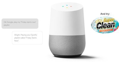 Google Home, Now with More Ads!™