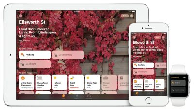HomeKit automation on Apple devices