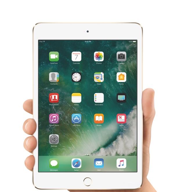 The iPad mini 4