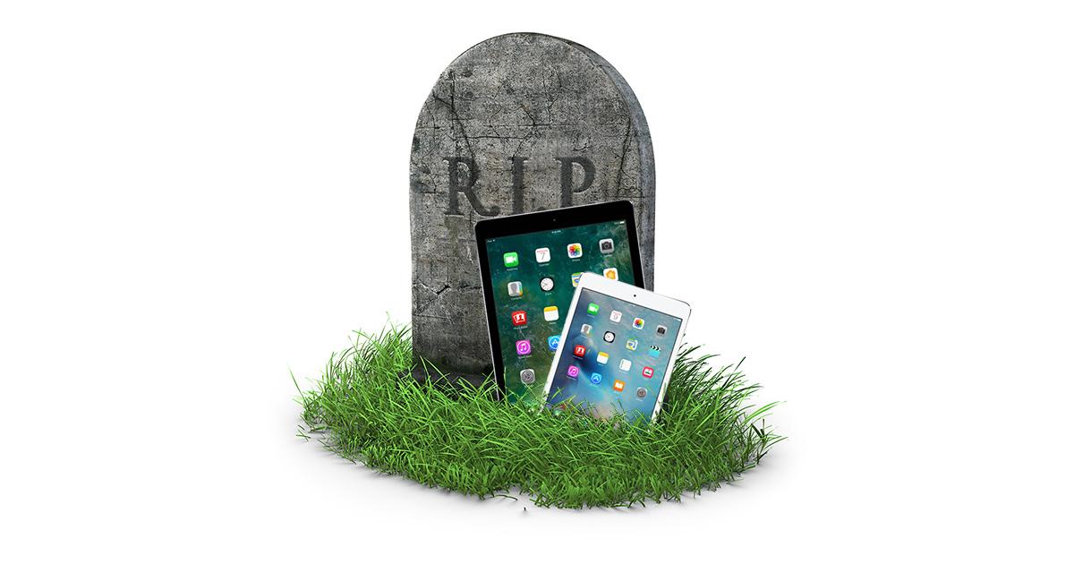 Apple discontinues iPad Air 2 and iPad mini 2