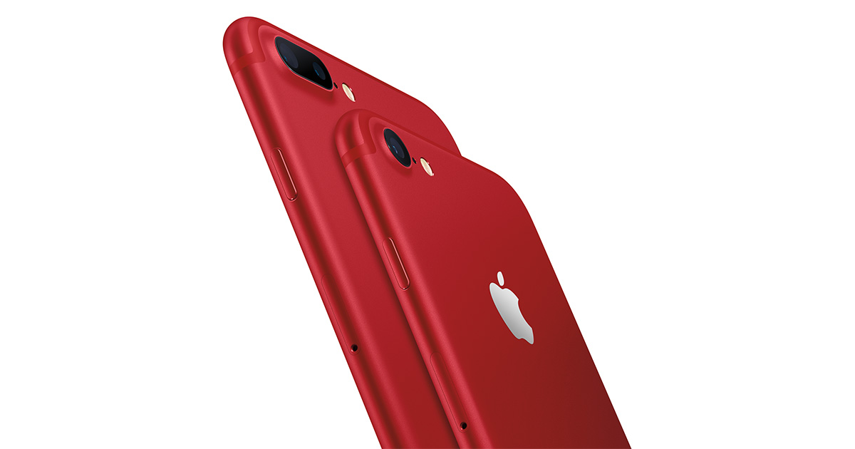 iPhone 7 PRODUCT(RED) Special Edition
