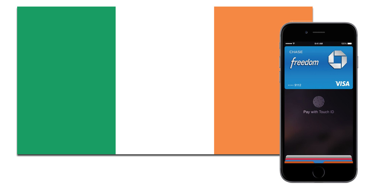 Ireland gets Apple Pay