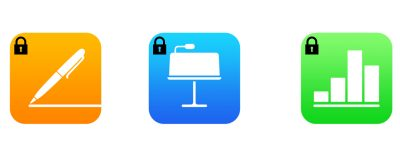 iWork password protection