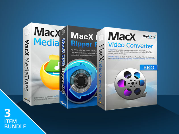 MacX Media Management Bundle: $19.95