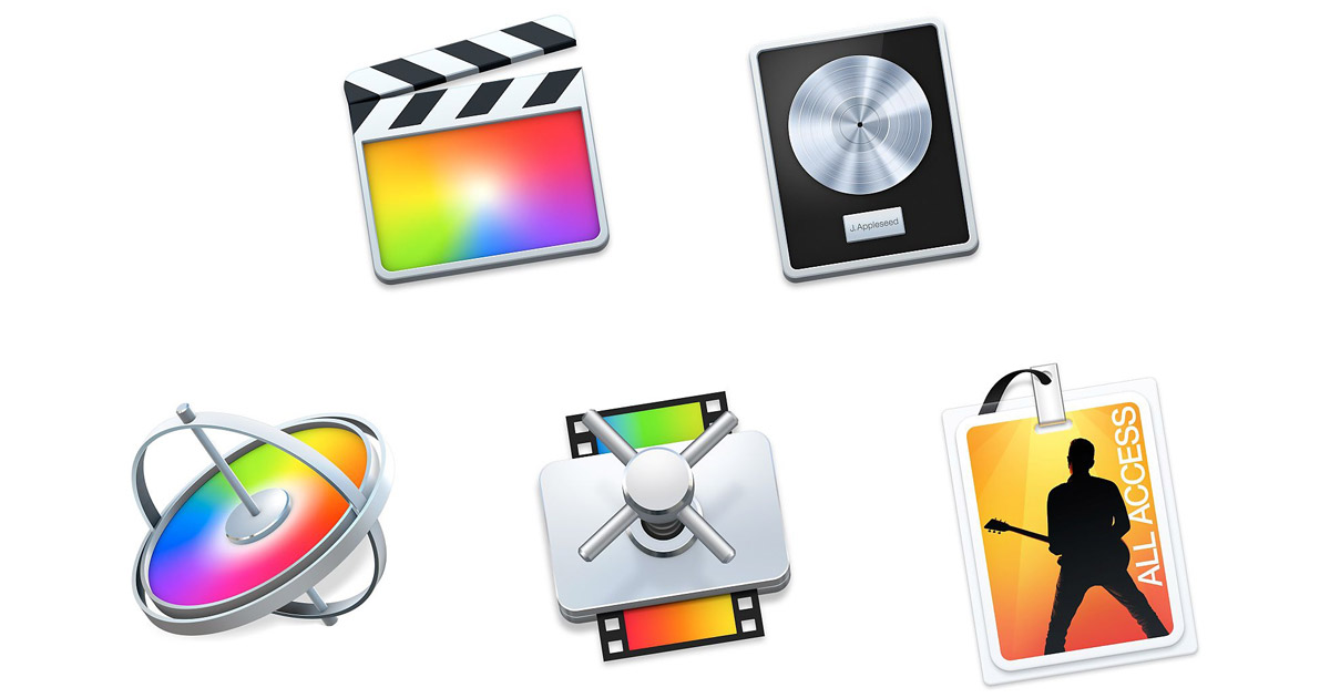 Apple Bundles Final Cut Pro X, Logic Pro X, Other Pro Apps for Education for $199.99