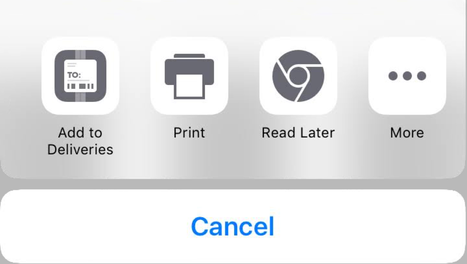 iOS Chrome Browser Gets Read Later, Like Safari's Reading List