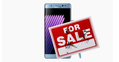 Samsung's combustible Galaxy Note 7 is going back on sale as a refurbished smartphone