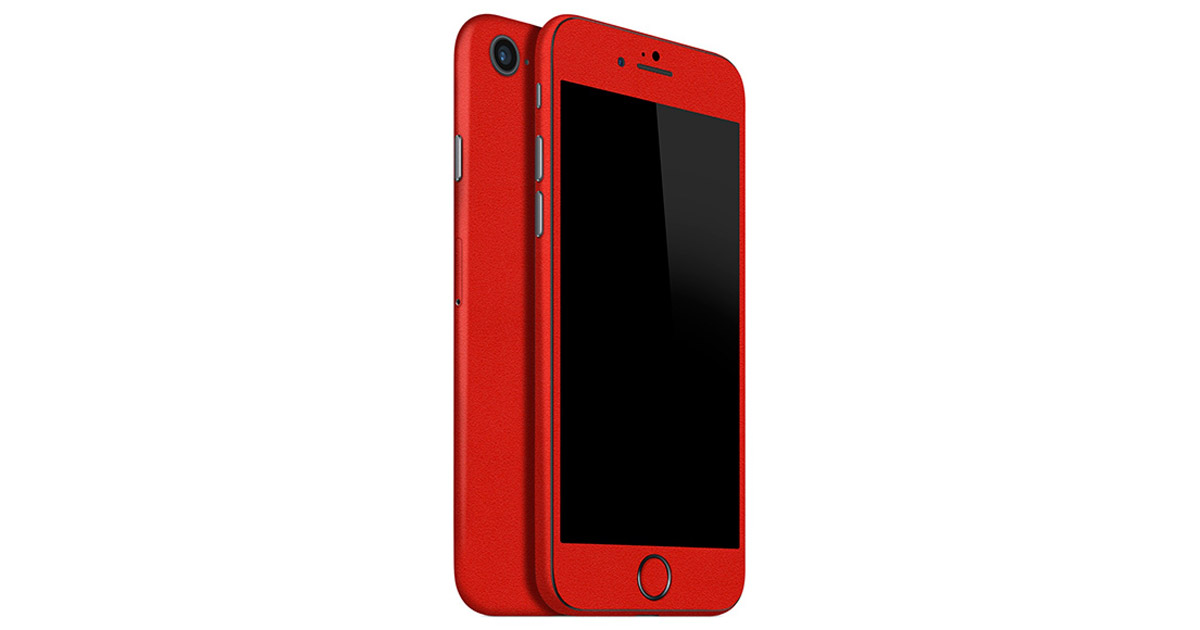 Make Your Old iPhone Red with SlickWraps