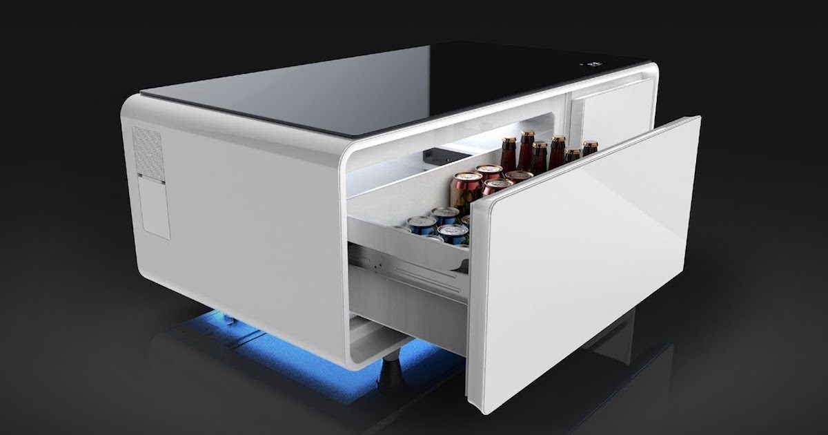 The Sobro Smart Table, a connected coffee table