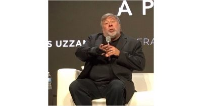 Steve Wozniak at the Startup World Cup Finale