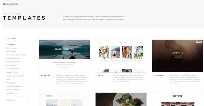 Squarespace's beautiful templates virtually guarantee your site won't be ugly or lame.