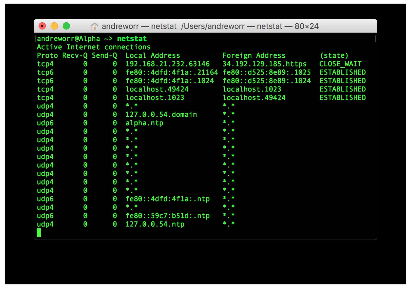 macOS terminal safari zero days