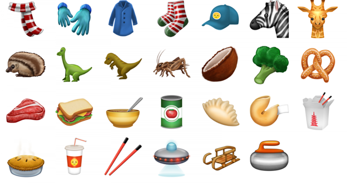 Unicode 10 Emoji examples that may come to the iPhone and Mac