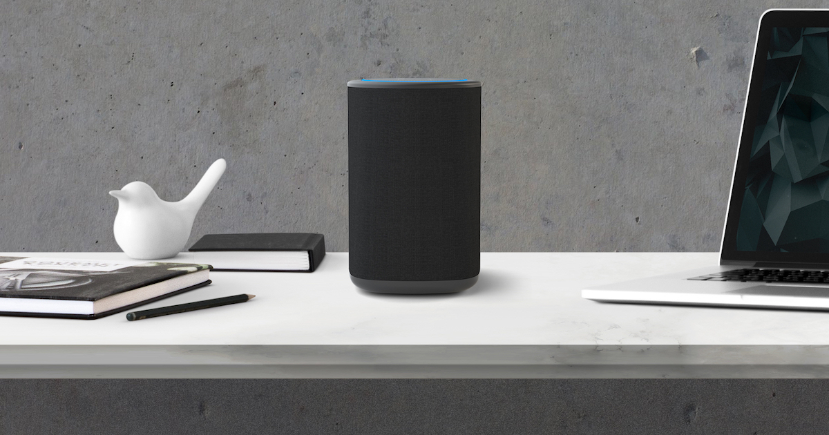 Take Your Amazon Echo Dot on the Go With VAUX