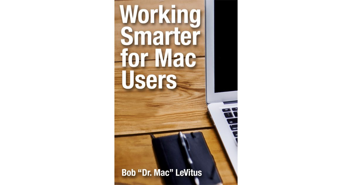 Working Smarter for Mac Users cover